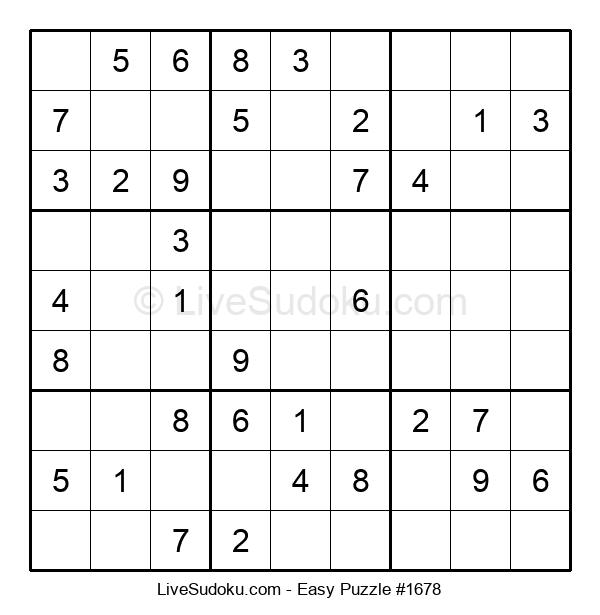 Beginners Puzzle #1678