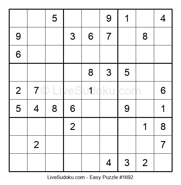 Beginners Puzzle #1692