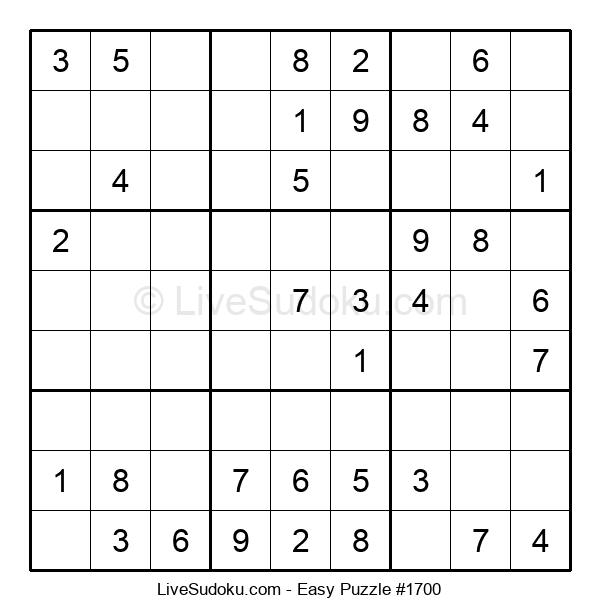 Beginners Puzzle #1700