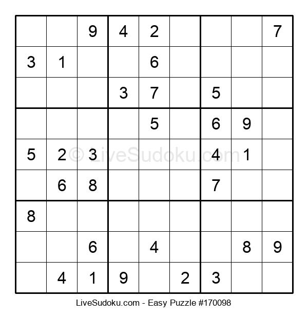 Beginners Puzzle #170098