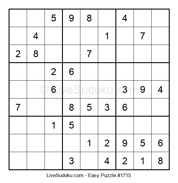 Beginners Puzzle #1715
