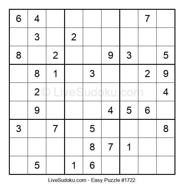 Beginners Puzzle #1722