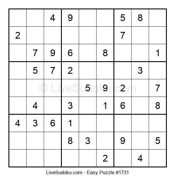 Beginners Puzzle #1731