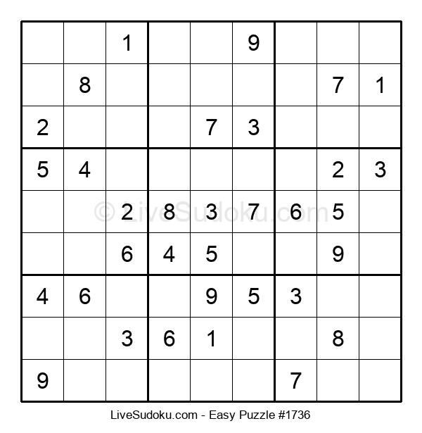 Beginners Puzzle #1736