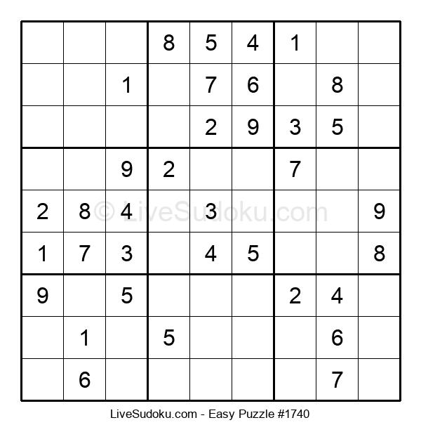 Beginners Puzzle #1740