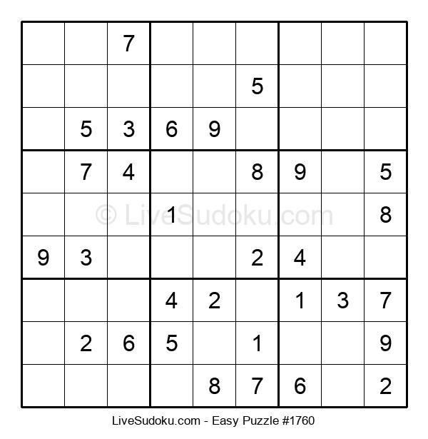 Beginners Puzzle #1760
