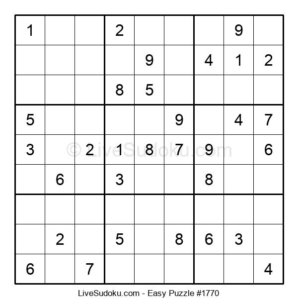 Beginners Puzzle #1770
