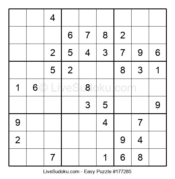 Beginners Puzzle #177285