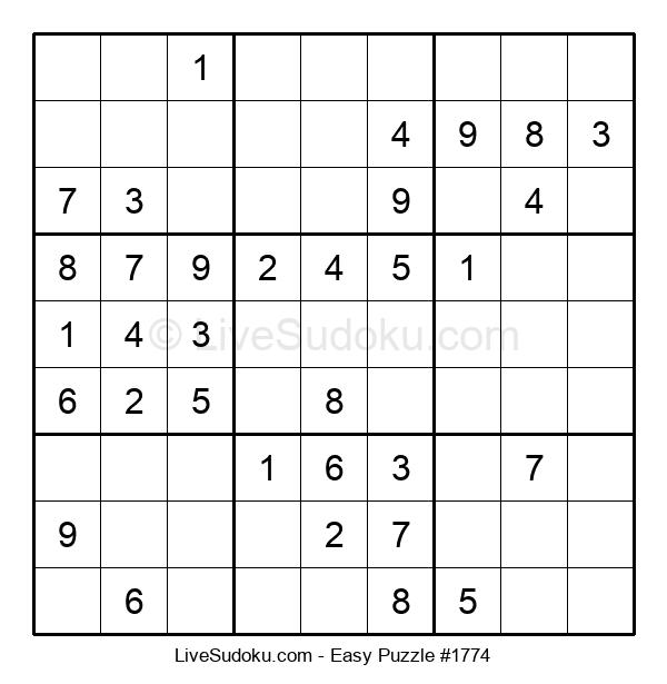 Beginners Puzzle #1774
