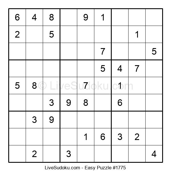 Beginners Puzzle #1775