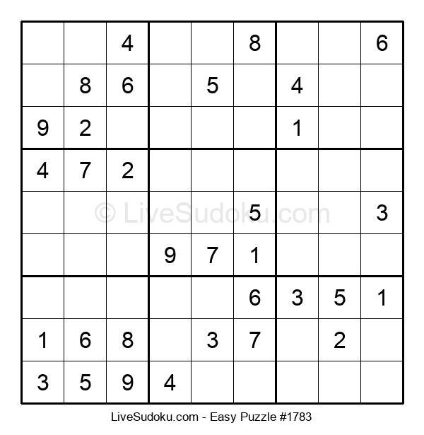 Beginners Puzzle #1783