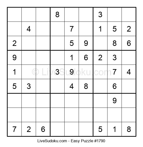 Beginners Puzzle #1790