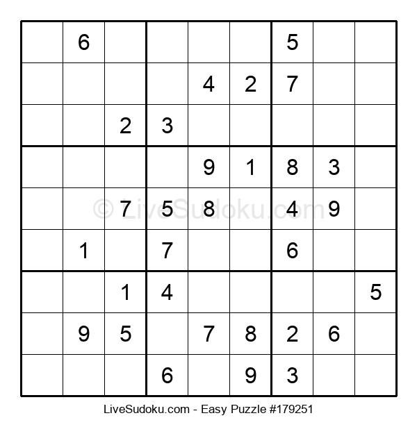 Beginners Puzzle #179251