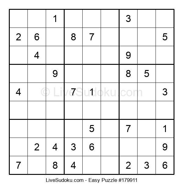Beginners Puzzle #179911