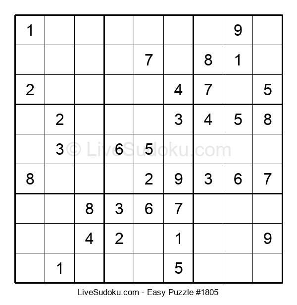 Beginners Puzzle #1805
