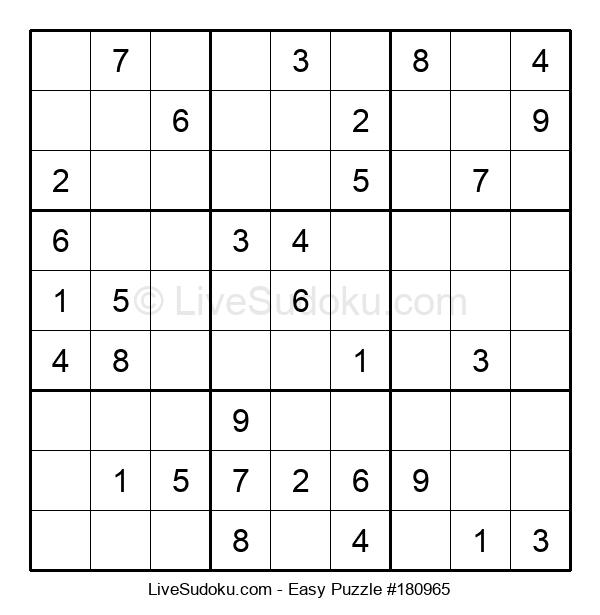 Beginners Puzzle #180965