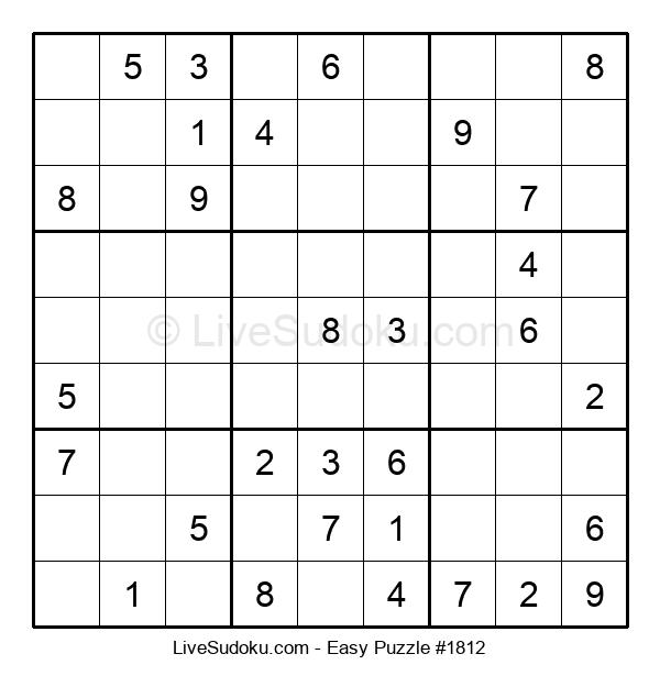 Beginners Puzzle #1812