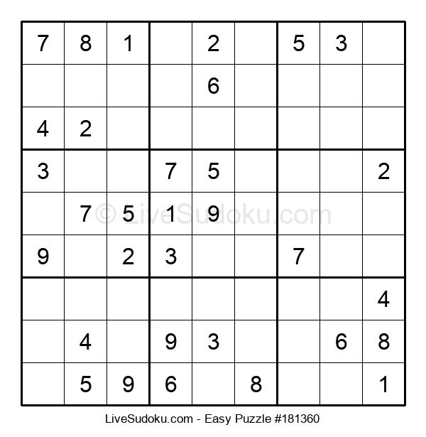 Beginners Puzzle #181360