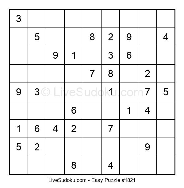 Beginners Puzzle #1821