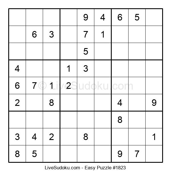 Beginners Puzzle #1823