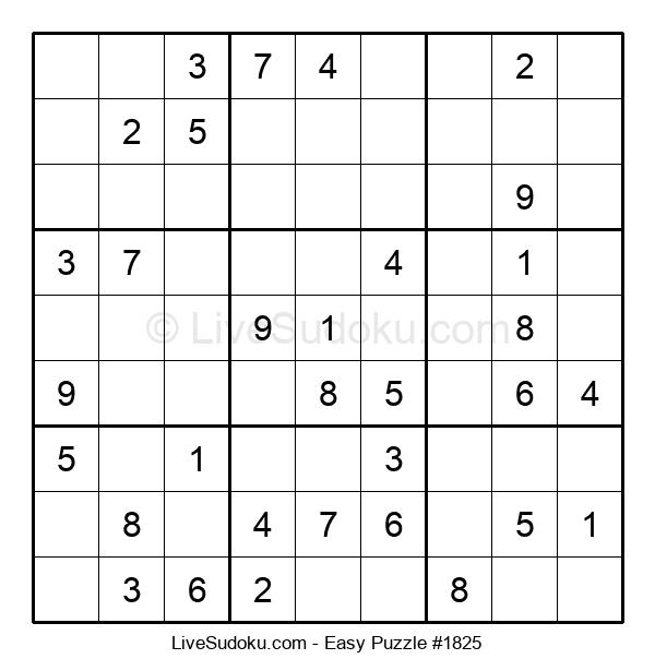 Beginners Puzzle #1825