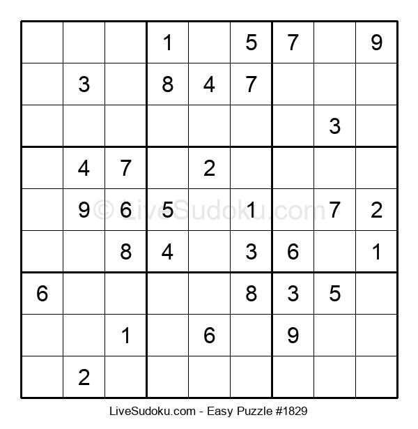 Beginners Puzzle #1829