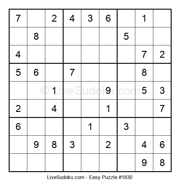 Beginners Puzzle #1830