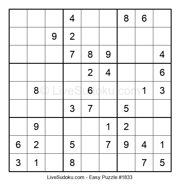 Beginners Puzzle #1833