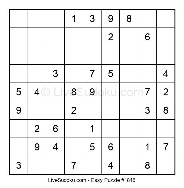 Beginners Puzzle #1846