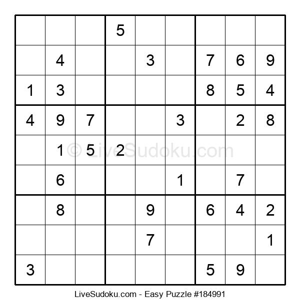 Beginners Puzzle #184991