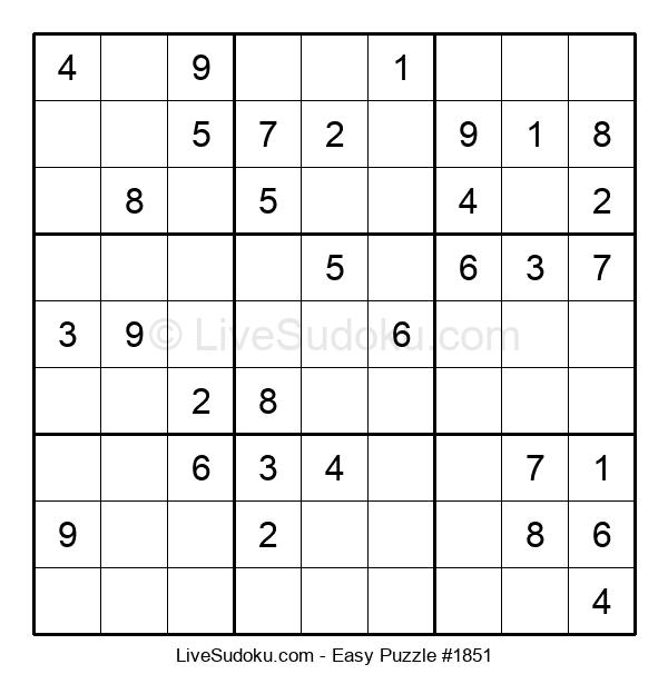 Beginners Puzzle #1851