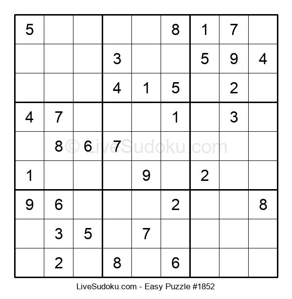 Beginners Puzzle #1852