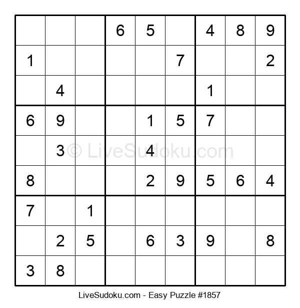 Beginners Puzzle #1857