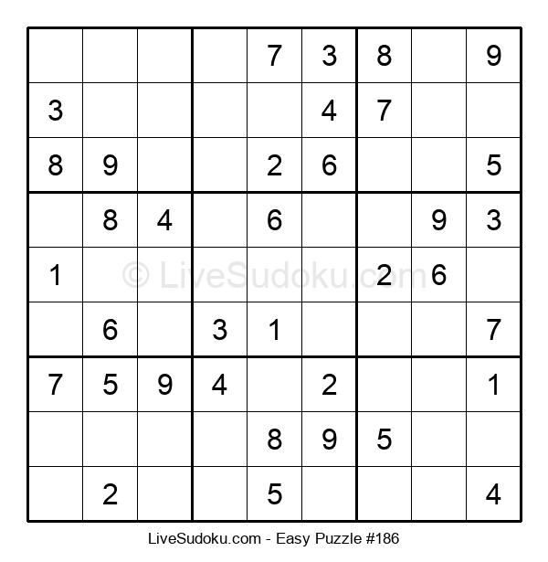 Beginners Puzzle #186