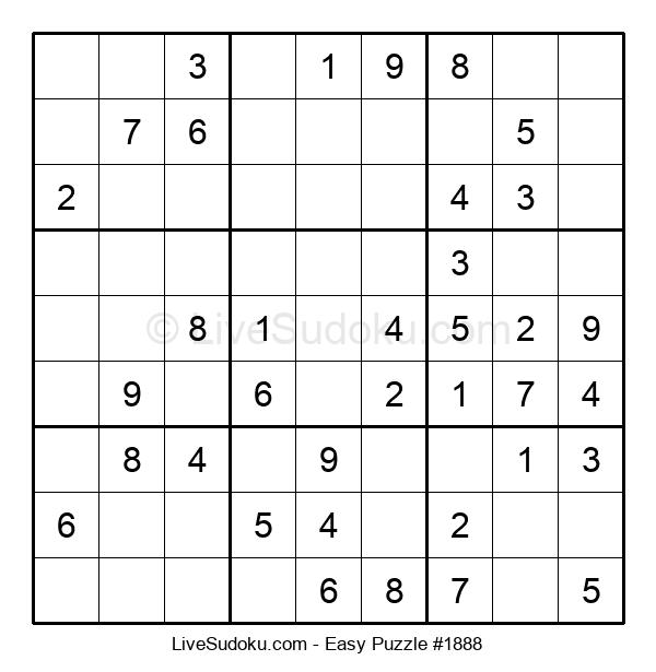 Beginners Puzzle #1888