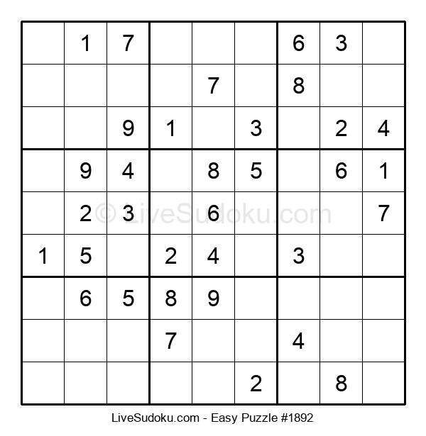 Beginners Puzzle #1892