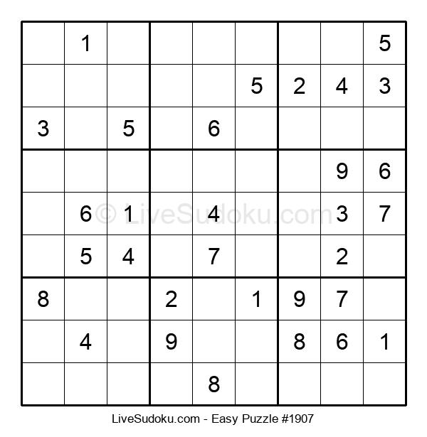 Beginners Puzzle #1907