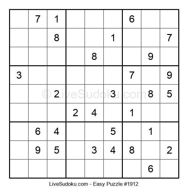 Beginners Puzzle #1912