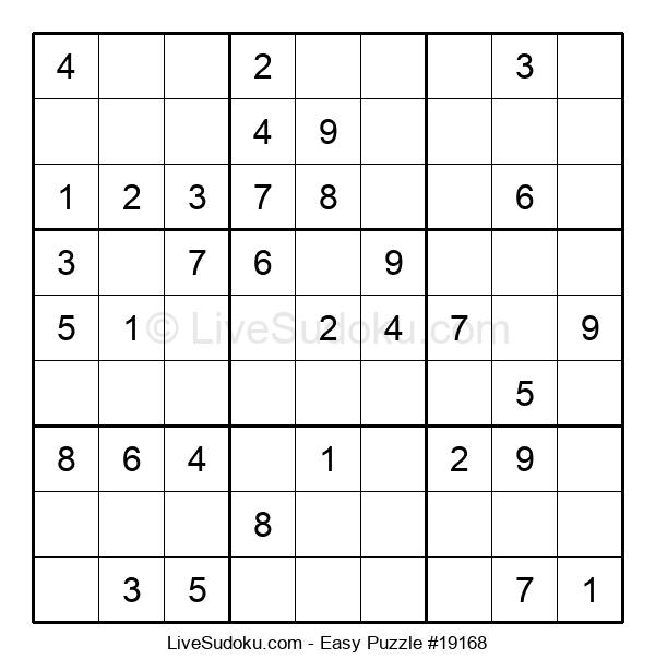 Beginners Puzzle #19168