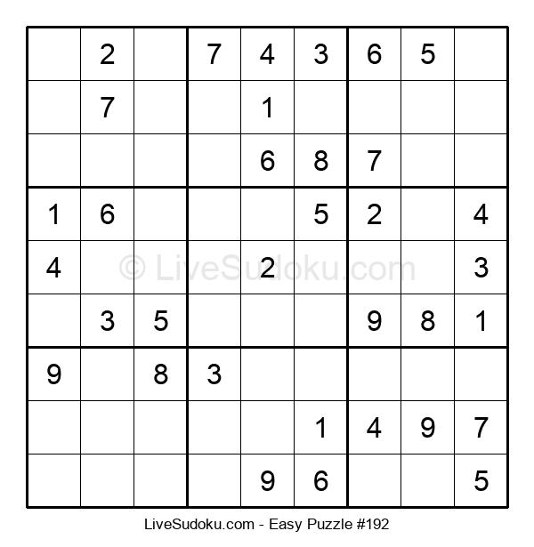 Beginners Puzzle #192