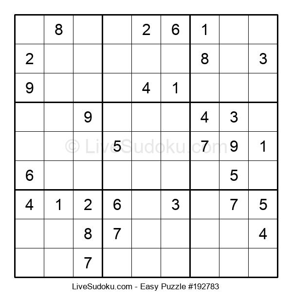 Beginners Puzzle #192783