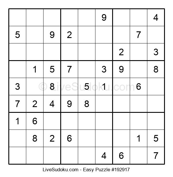 Beginners Puzzle #192917