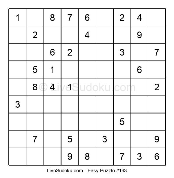Beginners Puzzle #193