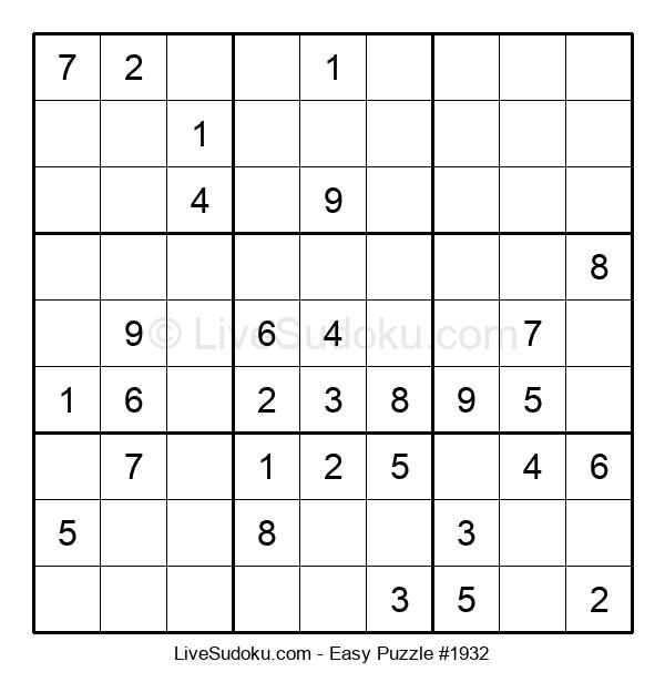 Beginners Puzzle #1932