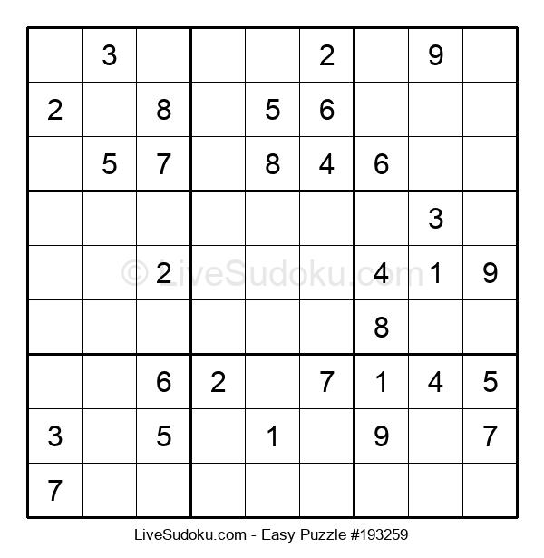 Beginners Puzzle #193259