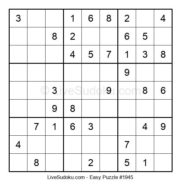 Beginners Puzzle #1945