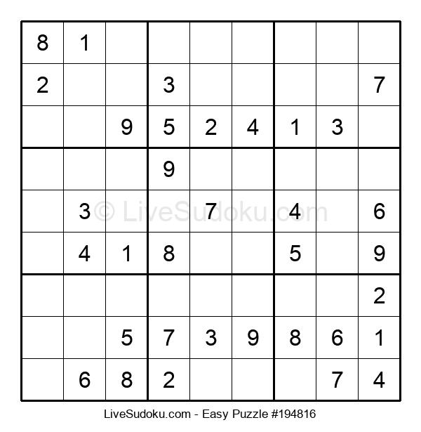 Beginners Puzzle #194816