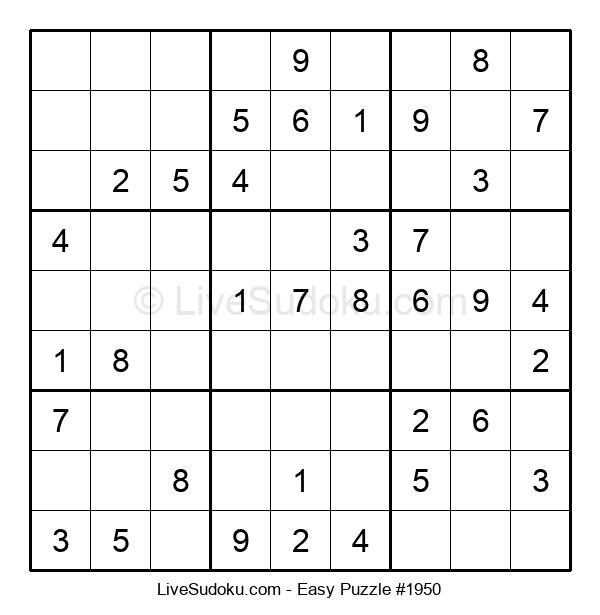 Beginners Puzzle #1950
