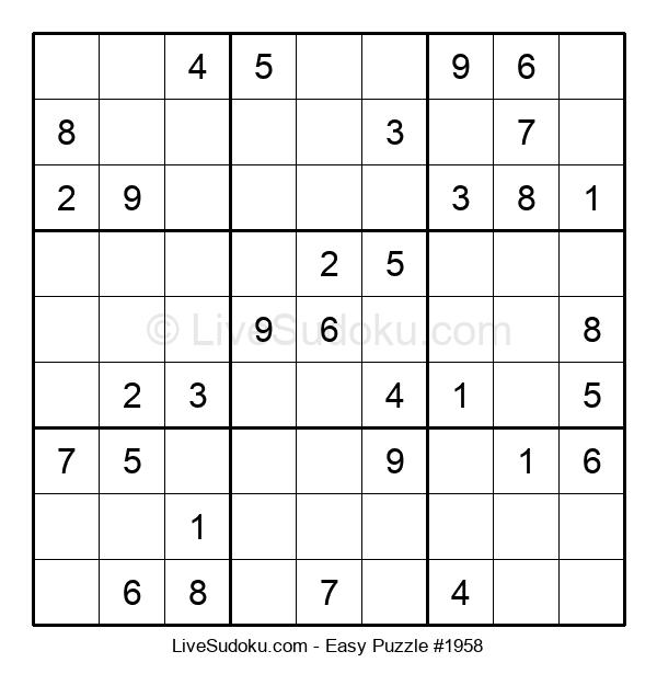 Beginners Puzzle #1958