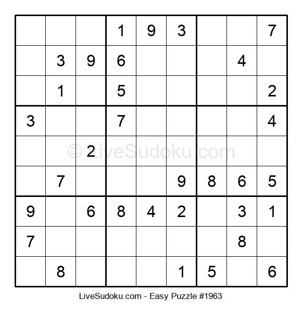 Beginners Puzzle #1963
